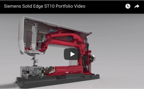 Siemens Solid Edge ST10 Portfolio Video