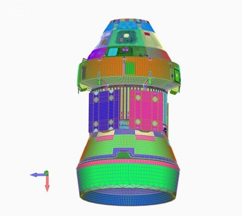 Femap plays critical role in the design simulation of NASA's new Orion manned spacecraft