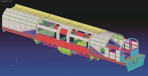 Cideon Engineering uses finite element analysis to make railway vehicles safer, efficient and comfortable