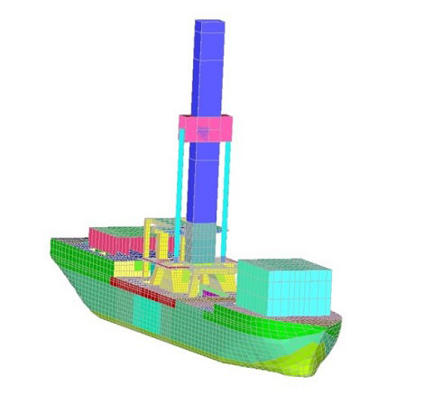 Oil equipment engineering leader GustoMSC eliminates hull and other problems during design phase with Femap