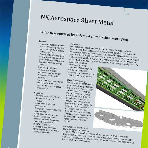 NX CAD FACT SHEETS